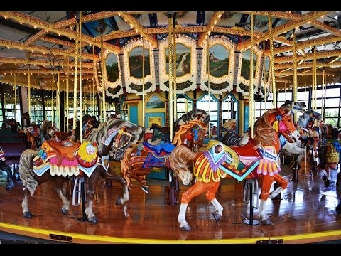 The Historic Carousel At Seattle S Woodland Park Zoo Youtube