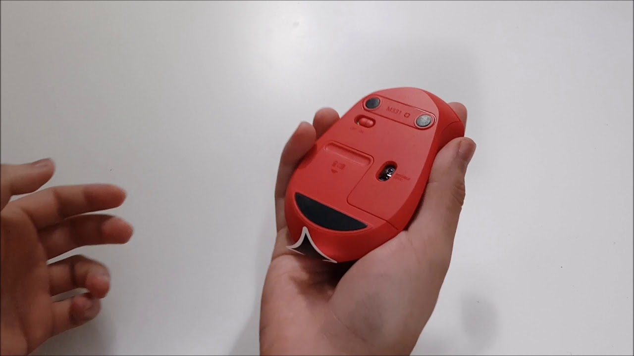 Logitech M331 Silent Plus Unboxing Quick Preview Youtube Mouse Wireless