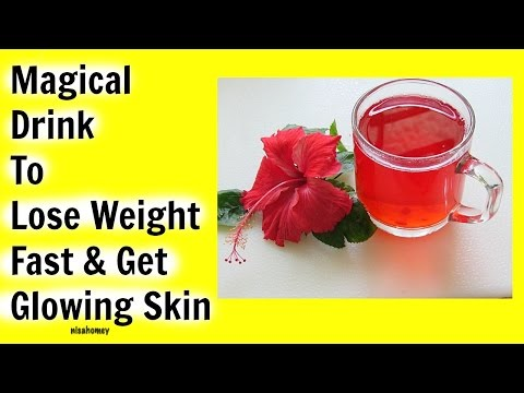 hibiscus-tea-for-weight-loss---herbal-remedy-for-thyroid---lose-weight-&-get-younger-glowing-skin