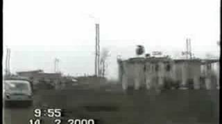 Chechnya 2000 - Grozny city ride