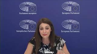 Intervento in Plenaria dell'europarlamentare Pina Picierno sulle Le donne in politica: lotta contro gli abusi online.