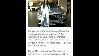 Bollywood Actresses Cars collection | Deepika, Anushka, Alia, Jacqueline, Sonam, Kriti