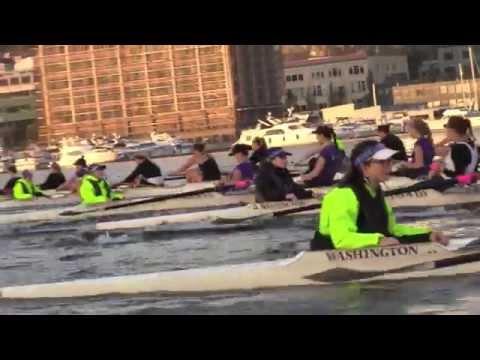 UW Women's Rowing 'BOOM!'