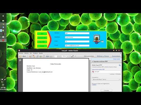 Crear .PDF con JAVA Fácil y Rápido