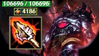 100000 HP SION + ATMA'S RECKONING (New Old Item)