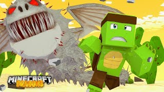 The DESERT SCREAMING DEATH DRAGONS ATTACK! - Minecraft Dragons