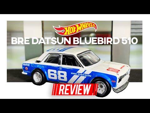 BRE DATSUN BLUEBIRD 510 BY HOT WHEELS (1:64) REVIEW