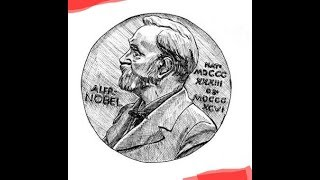 Sir Alfred Nobel || Free hand drawing tutotial for begineers (just with pen and paper)
