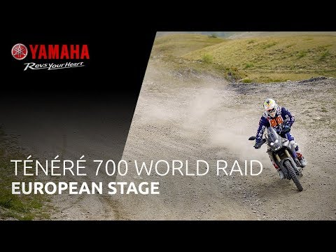 Yamaha Ténéré  World Raid | European Stage
