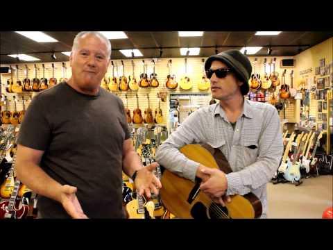 Jakob Dylan at Norman's Rare Guitars