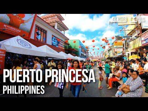 Puerto Princesa, Palawan - 🇵🇭 Philippines - 4K Virtual Tour