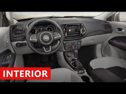 2018 jeep compass limited interior
