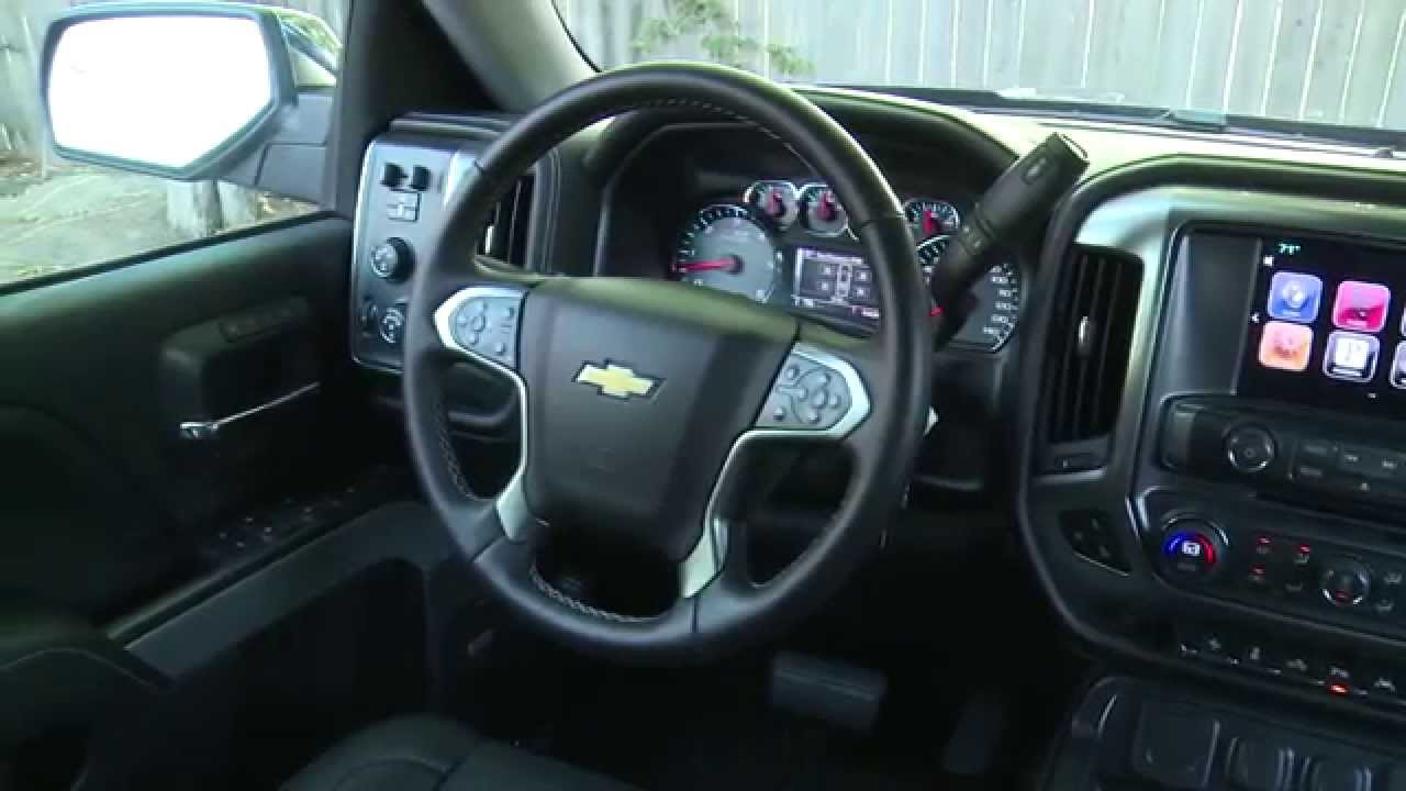 2016 Chevrolet Silverado Z71 Lt Interior Design Automototv