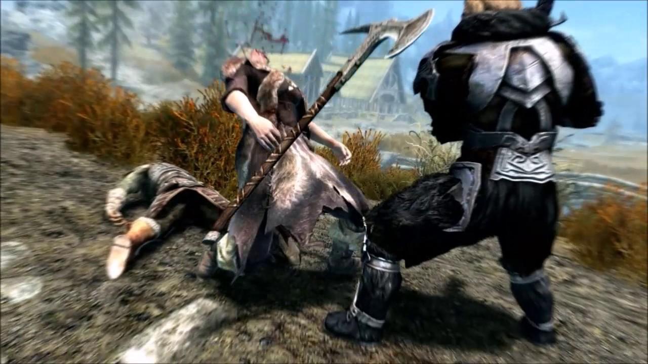 Skyrim Dawnguard Gameplay Part 20 - Lets Play (Vampire