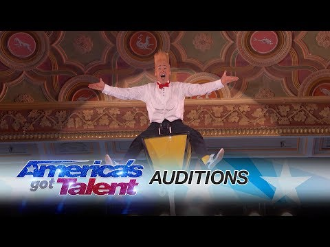 Thumbnail: Bello Nock: Circus Performer Thrills From Towering Heights - America's Got Talent 2017