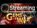 🔥 Gems of War Stream: Daemon Domination Teams Week 🔥