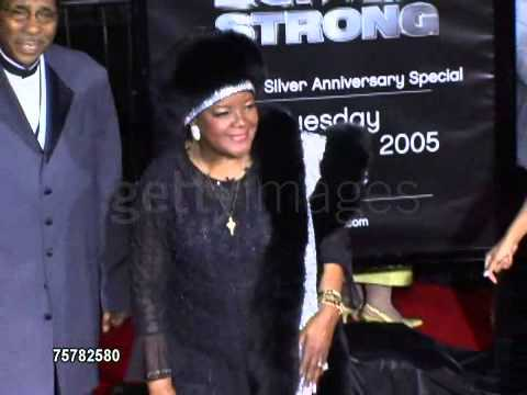 Download Pastor Shirley Caesar at the BET 25 Strong Silver Anniversary Special arrivals at the Shrine Auditor