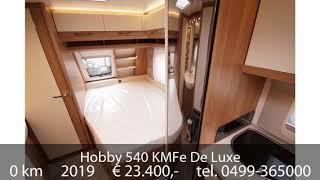 Hobby 540 KMFe De Luxe