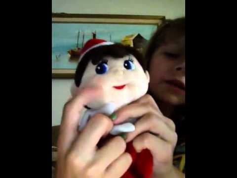 My Elf On The Shelf Stuffed Elf Animal Youtube