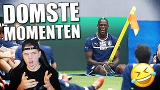 TOP 10 DOMSTE VOETBALLERS!!