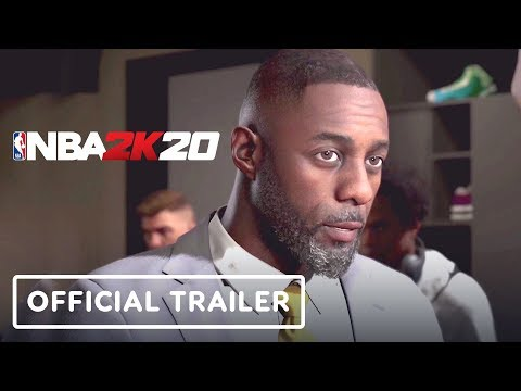 NBA 2K20 My Career Mode Official Trailer (Idris Elba, Rosario Dawson) - Gamescom 2019