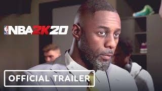 NBA 2K20 My Career Mode Official Trailer (Idris Elba, Rosario Dawson) - Gamescom 2019
