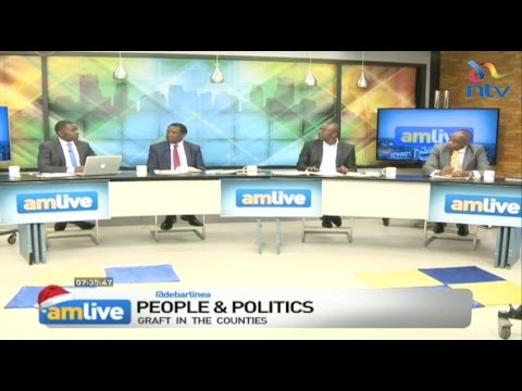 AM Live Dec 6,2016: Graft in the Counties