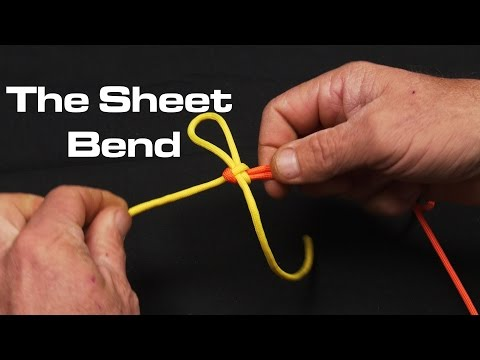 Tie Two Lines Together | Sheet Bend | Saltwater Experience