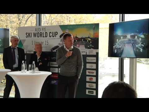 Skiworldcup in München: Schnee ist fix!