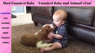 Funniest Baby   Funniest Animals    Fun and Fails Baby Video 2019   Top funny videos in the word