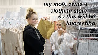 MY MOM PICKS MY OUTFITS FOR A WEEK... oh no.