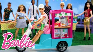 Barbie® Enters Her Bistro Cart Into a Cooking Competition | Barbie