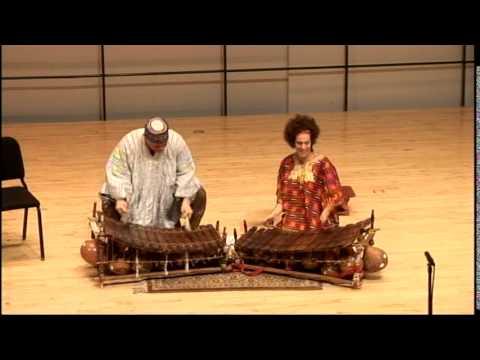 Bernard Woma, Gina Ferrera & Peace Elewonu- Gyil @ Swarthmore College 2008
