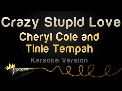 Cheryl Cole And Tinie Tempah - Crazy Stupid Love (Karaoke Version)
