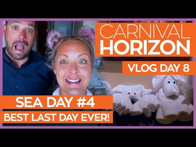 The Best Last Day Ever | Carnival Horizon Cruise Vlog Day 08