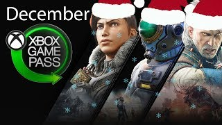 Xbox Game Pass December 2019 Games Suggestions And Additions