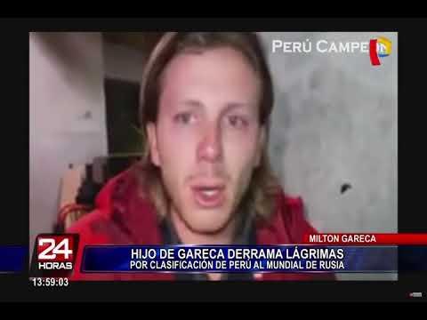 Hijo de Ricardo Gareca lloró de emoción tras clasificación al Mundial