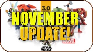 NOVEMBER UPDATE: NEW FEATURES AND IMPROVEMENTS! - Disney Infinity 3.0 News