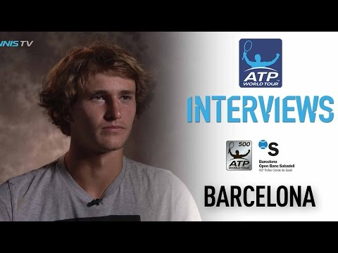 Interview: Zverev Discusses Tough Barcelona Field 2017