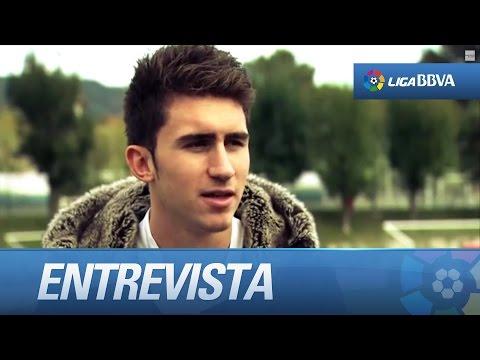 Test a Aymeric Laporte, jugador del Athletic Club