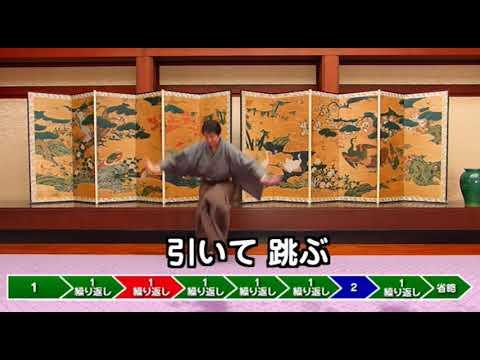 大阪城天守閣 豊国踊り急の風流2踊り方