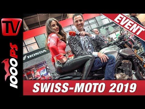SWISS-MOTO 2019 - Motorradmesse Zürich Rundgang mit NastyNils auf der Swissmoto