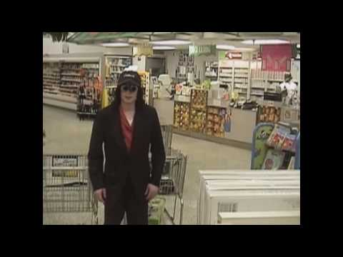 Michael Jackson goes shopping (HD)