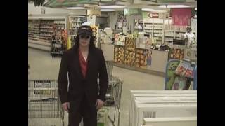 Michael Jackson goes shopping (HD)