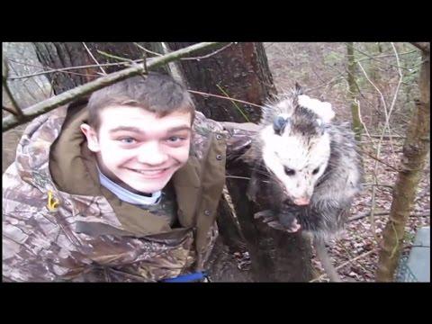 Kendall the Opossum Whisperer