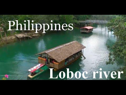 Loboc river on the island of Bohol. Philippines