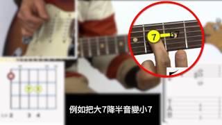 爵士吉他102 : Guide Tone指型練習