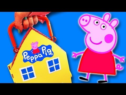 Peppa Pig en español & Full English episodes of: How to play with Pepa by supercool4kids