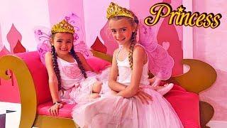 Las Ratitas se visten de princesas por un dia drees up princess