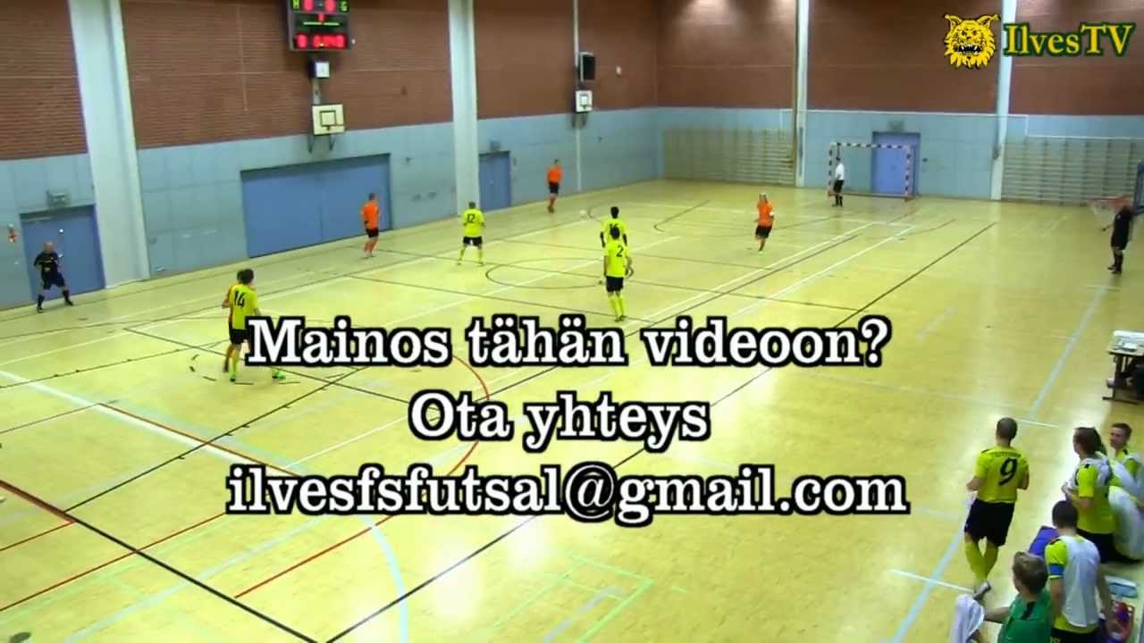 HD! Loiske-Ilves FS 0-8 (0-6) SPL Tampereen piiri Liittocup 16.10.12 maalikooste - YouTube